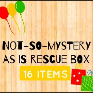 Rescue Box 16 As- Is Items Slight-Major Damage